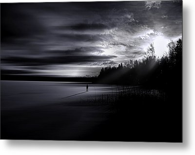 Time Left Behind Metal Print by Gary Smith