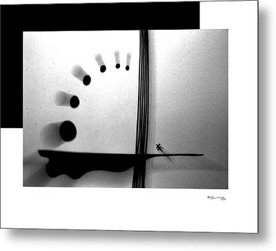 Time On A String Metal Print by Xoanxo Cespon