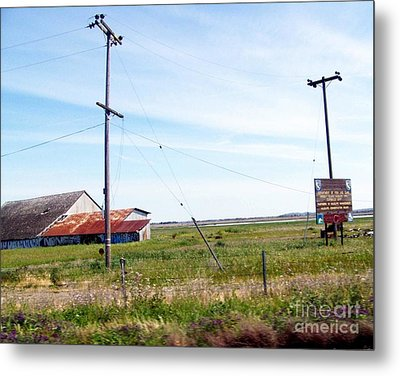 Metal Print featuring the photograph Time Passed By by Bobbee Rickard