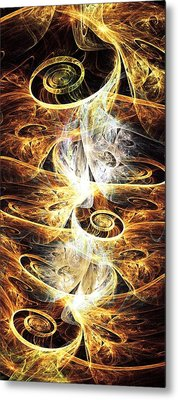 Time Springs Metal Print