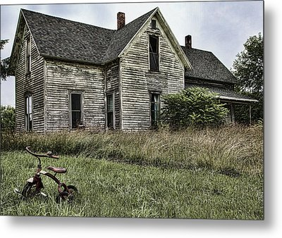 Time To Come Inside Metal Print by John Crothers