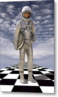 Time Zone Metal Print by Mike McGlothlen