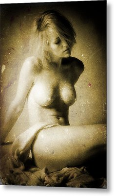 Timeless Form Of Beauty Metal Print by Timothy Bischoff