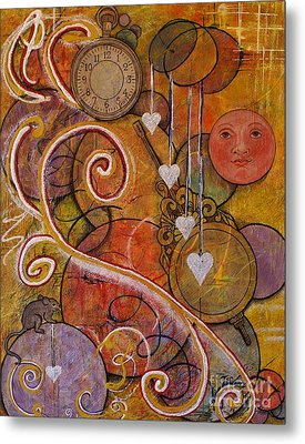 Metal Print featuring the painting Timeless Love by Jane Chesnut