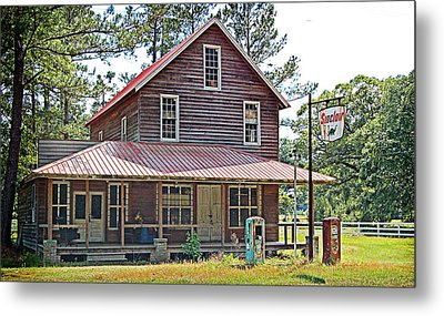 Metal Print featuring the photograph Times Gone By by Linda Brown