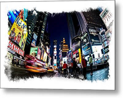 Times Square Metal Print by James Howe
