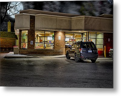 Timmy's At Night Metal Print