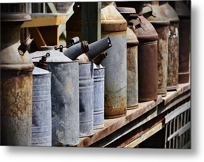 Tin Can Alley Metal Print