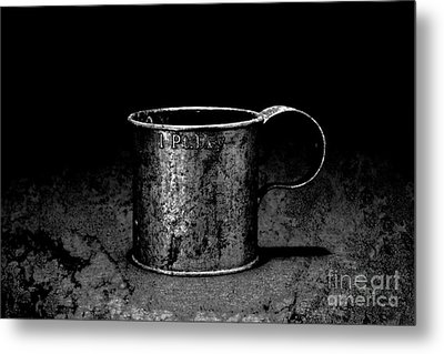 Tin Cup Chalice Metal Print by John Stephens