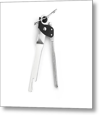 Tin Opener Metal Print by Science Photo Library
