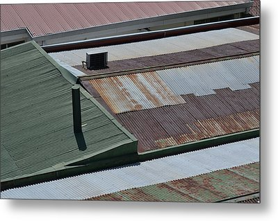 Tin Rooftops Of San Jose Metal Print