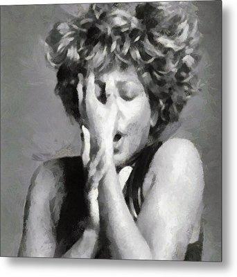 Tina Turner - Emotion Metal Print
