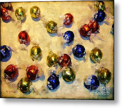 Tinfoiled Truffles Metal Print by RC deWinter