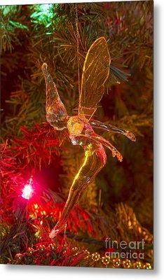 Tinker Bell Christmas Tree Landing Metal Print by James BO  Insogna
