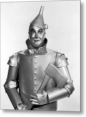 Tinman - Wizard Of Oz Metal Print