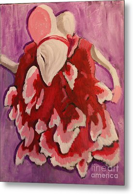 Tiny Dancer Metal Print by Wendy Coulson