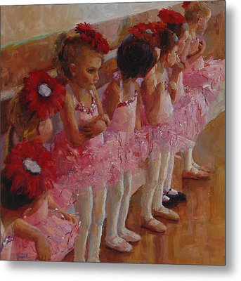 Tiny Dancers Metal Print by Jeanne Young