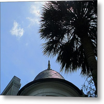 Tip Top 2 Meeting Street Metal Print by Randall Weidner