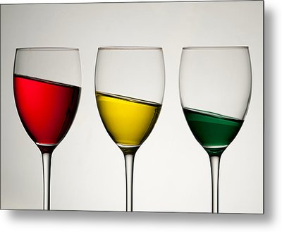 Tipple Metal Print by AJM Photography