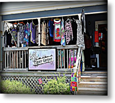 Tipsy Gypsy Metal Print by Beth Vincent