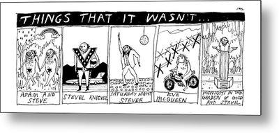Title: Things That It Wasn't... Multi Panel Metal Print