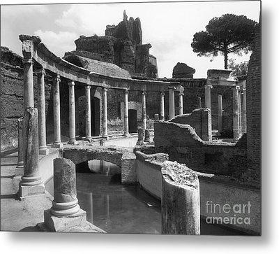 Tivoli Hadrian's Villa Metal Print by Granger