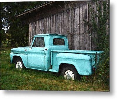 To Be Country - Vintage Vehicle Art Metal Print