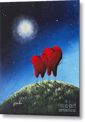 To My Beloved Heart Print By Shawna Erback Metal Print by Shawna Erback
