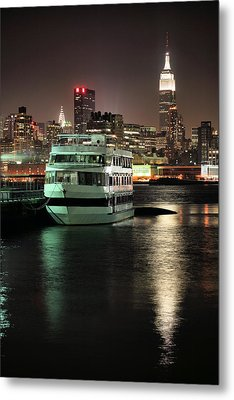 To Nyc Metal Print by JC Findley