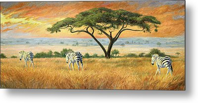 To Other Pastures Metal Print