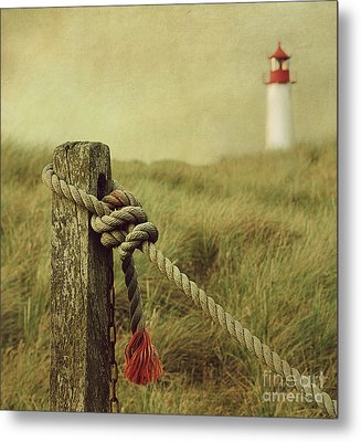 To The Lighthouse Metal Print by Hannes Cmarits