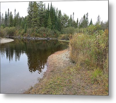 To The River Metal Print by Jean Macaluso