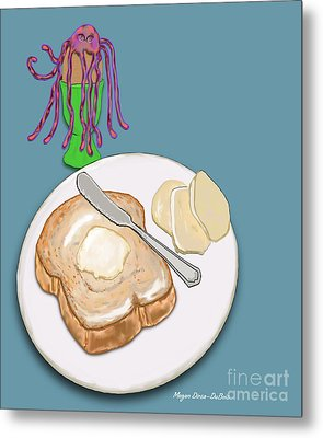Toast And Jelly Metal Print by Megan Dirsa-DuBois