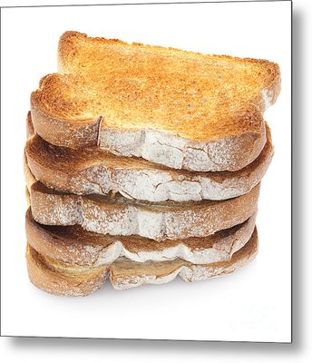 Toast Stack Metal Print by Colin and Linda McKie