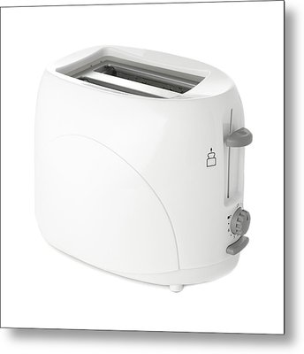 Toaster Metal Print by Science Photo Library