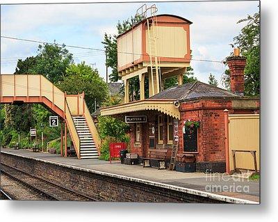 Toddington Railway Station In Gloucestershire Metal Print