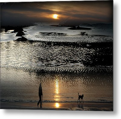 Tofinoscape Dusk Metal Print by Lyn  Perry