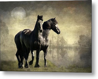 Together Metal Print by Annie Snel