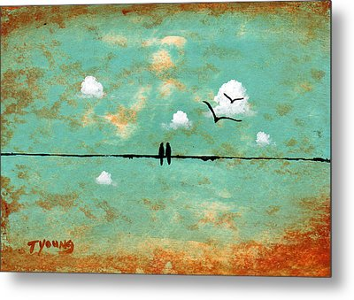 Together Metal Print by Todd Young