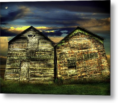 Together Until The End Metal Print by Thomas Young