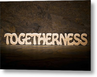 Togetherness Metal Print by Donald  Erickson