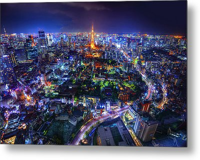 Tokyo Dreamscape Metal Print