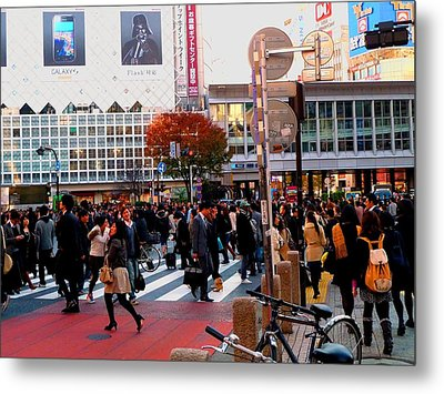 Metal Print featuring the photograph Tokyo by Julia Ivanovna Willhite