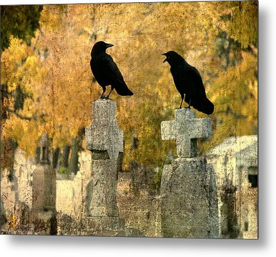 Told You So Metal Print by Gothicrow Images