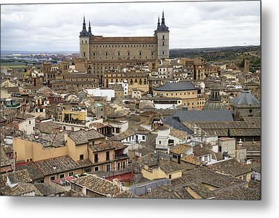 Metal Print featuring the photograph Toledo Spain Cityscape by Nathan Rupert