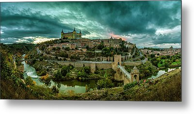 Toledo - The City Of The Three Cultures Metal Print by Pedro Jarque