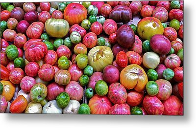 Metal Print featuring the photograph Tomatoes by Bill Owen