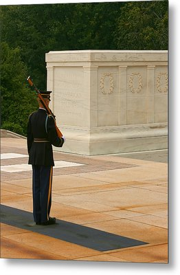 Tomb Of The Unknown Soldier Metal Print by Kim Hojnacki