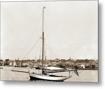 Tomboy, Tomboy Yacht, Harbors, Yachts Metal Print