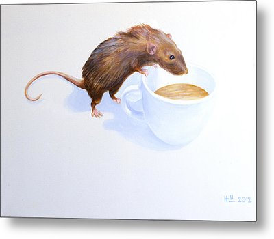 Tommy Metal Print by Kevin Hill